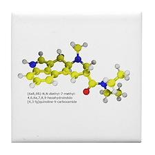 LSD Molecule Tile Coaster