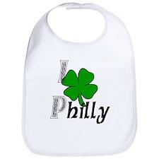 I Love Philly Bib