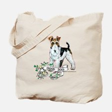 Fox Terrier Good Dog Tote Bag