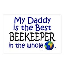 Best Beekeeper In The World (Daddy) Postcards (Pac