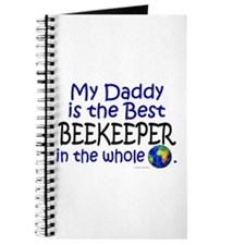 Best Beekeeper In The World (Daddy) Journal