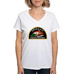 Abenakis Indian Police Shirt