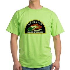 Abenakis Indian Police Green T-Shirt