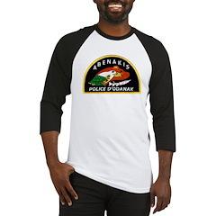 Abenakis Indian Police Baseball Jersey