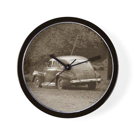 Vintage Car Wall Clock by daisyjoan