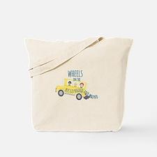 Wheels On Bus Tote Bag