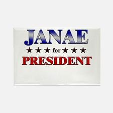 JANAE for president Rectangle Magnet