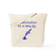 Cruciverbalists Tote Bag