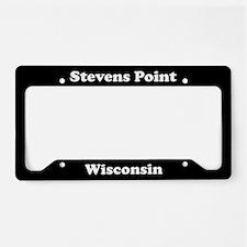 Stevens Point WI - LPF License Plate Holder