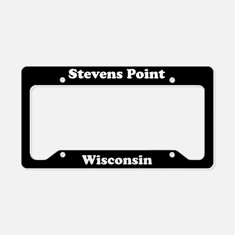 Stevens Point WI - LPF License Plate Holder