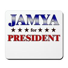 JAMYA for president Mousepad