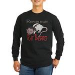 Republican Rat Bastard! Long Sleeve Dark T-Shirt