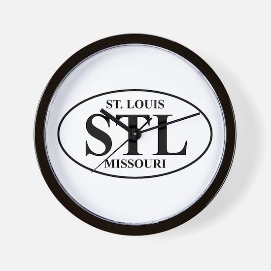 STL St Louis Wall Clock