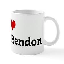 I Love Edward Rendon Mug