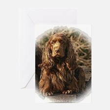 Sussex Spaniel sympathy cards Greeting Cards