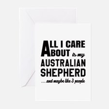 All I care about is my A Greeting Cards (Pk of 10)