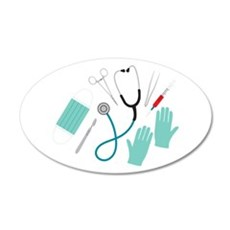 Surgeon Equipment Wall Decal