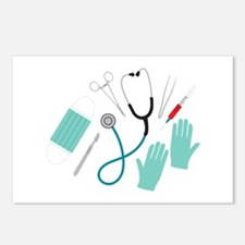 Surgeon Equipment Postcards (Package of 8)