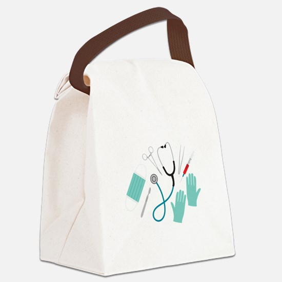 Surgeon Equipment Canvas Lunch Bag