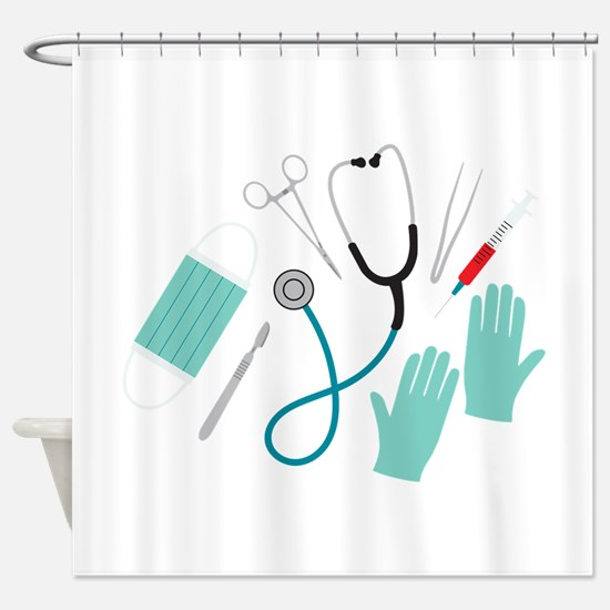 Surgeon Equipment Shower Curtain