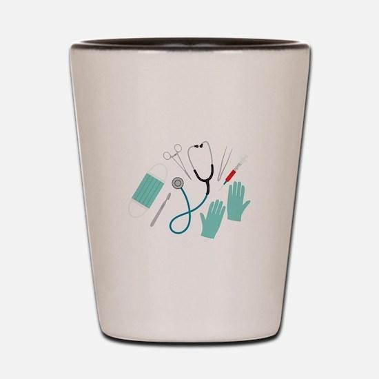 Surgeon Equipment Shot Glass