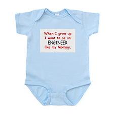 Engineer (Like My Mommy) Infant Bodysuit