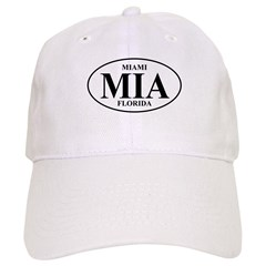 MIA Miami Baseball Cap