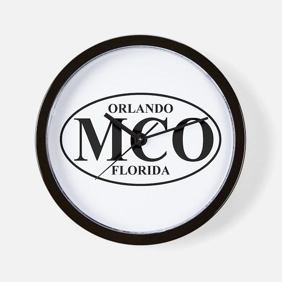 MCO Orlando Wall Clock