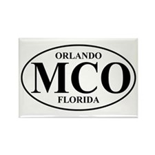 MCO Orlando Rectangle Magnet (10 pack)