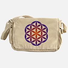 Cute Orange and purple kidspirit logo Messenger Bag