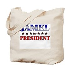 JAMEL for president Tote Bag