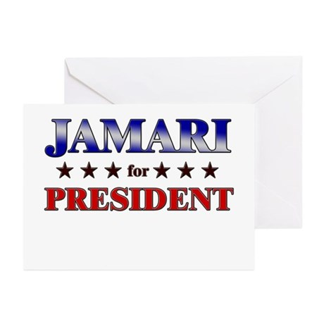 JAMARI for president Greeting Cards (Pk of 20)
