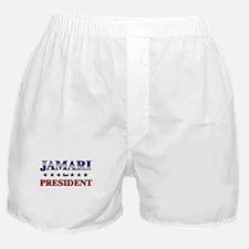 JAMARI for president Boxer Shorts