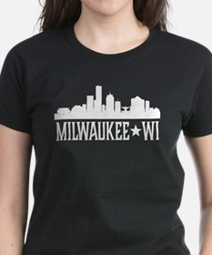 Milwaukee, Wisconsin Skyline Tee