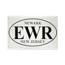 EWR Newark Rectangle Magnet