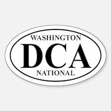 DCA Washington National Oval Decal
