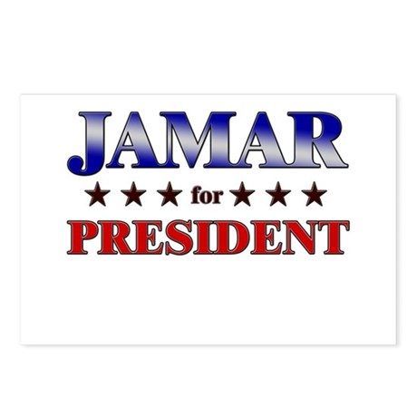 JAMAR for president Postcards (Package of 8)