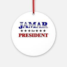 JAMAR for president Ornament (Round)