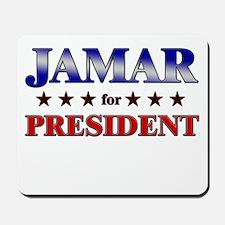 JAMAR for president Mousepad