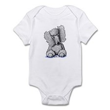 Silver Poodle Infant Bodysuit