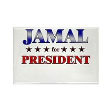 JAMAL for president Rectangle Magnet