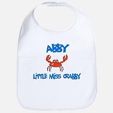 Abby - Little Miss Crabby Bib