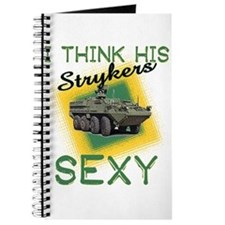 I Think His Strykers Sexy Journal