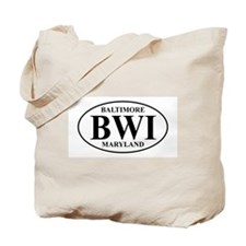 BWI Baltimore Tote Bag