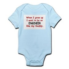 Engineer (Like My Daddy) Infant Bodysuit