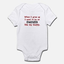 Engineer (Like My Daddy) Infant Bodysuit