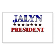 JALYN for president Rectangle Decal