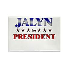 JALYN for president Rectangle Magnet
