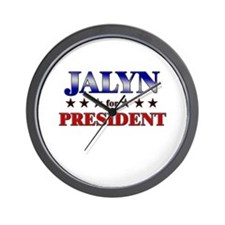 JALYN for president Wall Clock