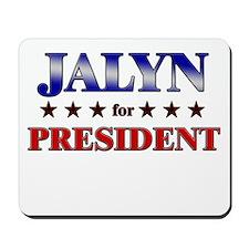 JALYN for president Mousepad